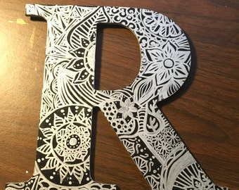 9.5 Inch Wood Letter