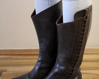 Hugo Boss Brown Boots  Eu41 UK7 US 9 1/2
