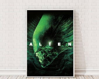 Alien Poster Art Film Poster Movie Poster