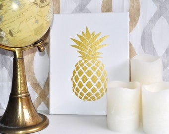 Pineapple Canvas | Wall Art | Office Decor