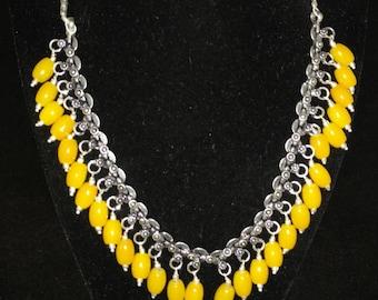 Lemon Jade Necklace