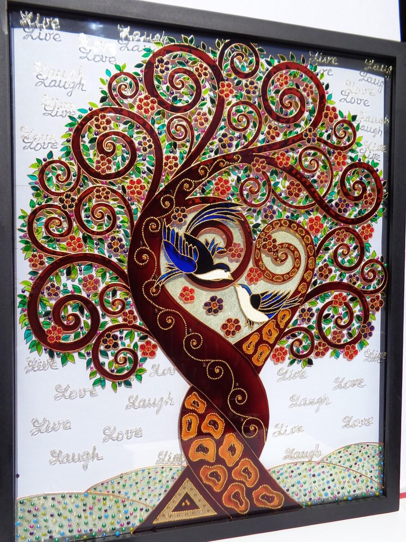 Tree Of Love Art 17x21 Love Tree Tree Of Life Art