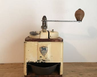 1930s French Vintage Peugeot Coffee Grinder