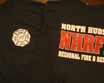 North Hudson Fire and Rescue Longsleeve Shirt