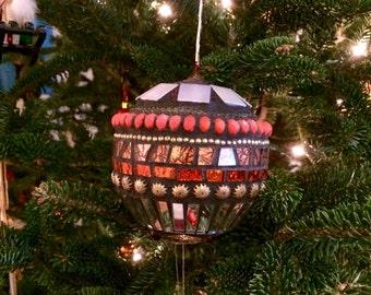 Mosaic Christmas Ornament/Suncatcher