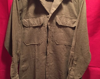WW2 U.S Army Wool Shirt