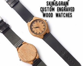 Custom Watch, Men Wood Watches, Watch Wood, Mens Watch Wood, Fathers Day from Son, Watch Band, Anniversary Gift, Mens Gift Watch, Mens Watch