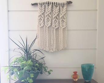 MADE TO ORDER Macrame Wall Hanging, 100% Cotton Rope Woven Art