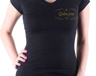 T-shirt Gluten free Golden