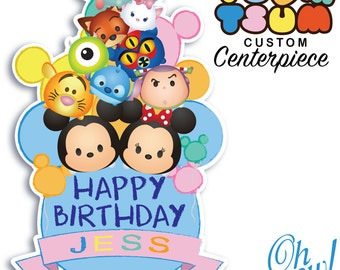 Tsum Tsum Theme Custom Centerpiece