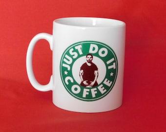 Shia Labeouf Just Do It Meme Starbucks Inspired Coffee Mug 10oz