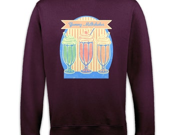 Yummy Milkshakes sweatshirt