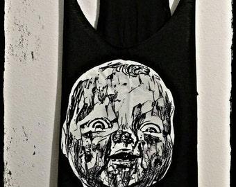 Stay Weird Dollface Tank - Soft Triblend Women's Tank