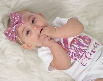 Headband Pink Sparkle Bow , Baby Girls Pink Headband, Girls Sparkle Headband, Pink Sparkle Bow, Pink Bow Headband, Girls Headband, Pink Bow