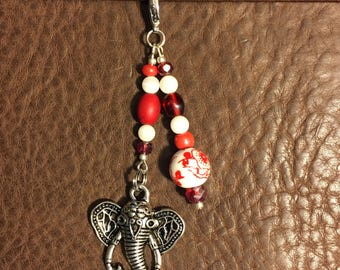 Elephant Planner Charm