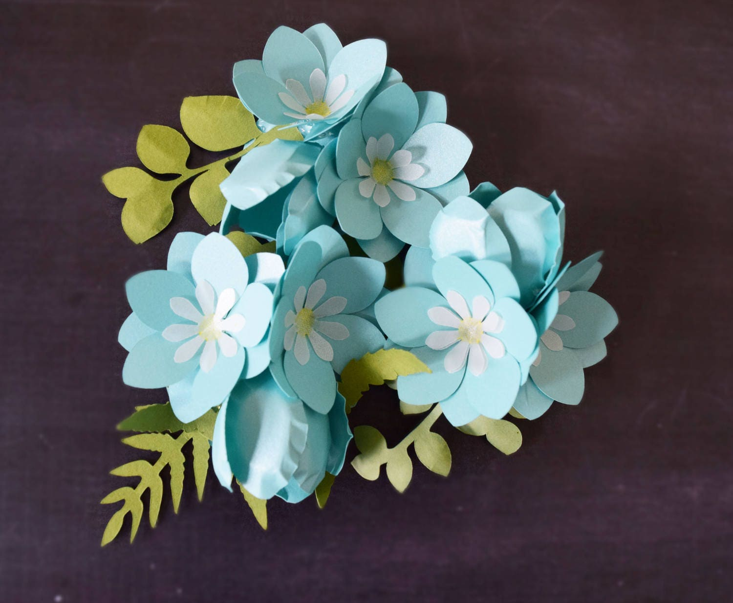 small diy paper flower templates  u0026 tutorial forget me not