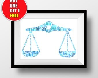 Libra artwork,  libra  present, libra  star sign , libra  star sign word art