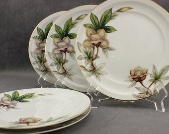Meito China Woodrose Bread & Butter Plates Set of 5