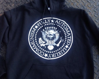 Fully AutomatedLuxury Communism Ramones hoodie