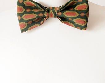 Pure Silk Bow Tie in Matte Colours