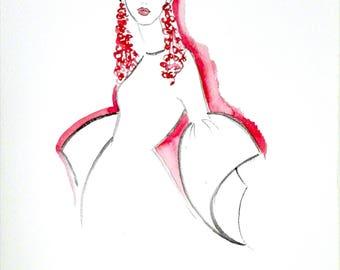 Cool - Original Watercolor