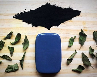 Activated Charcoal Soap, Mint Soap: Charcoal Soap Bar Charcoal Bar Soap Charcoal Facial Soap Bamboo Charcoal Soap Facial Soap Goat Milk Soap