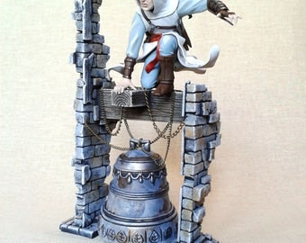 Altair figurine Assassin's Creed figurine Assassin sculpture Handmade miniature Ezio Connor Collectible figure