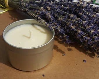 Lavender Scented Soy Candle, 8 oz.