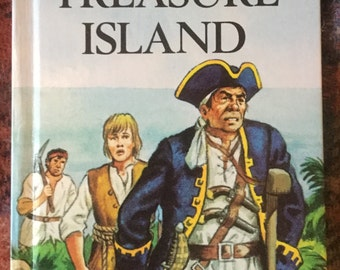Vintage Ladybird Book-Treasure Island