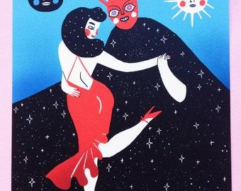 Tango - Print