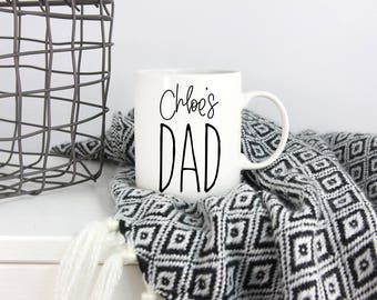 Custom Dad Mug, New Dad Gift, Dad Gift from Kids, Fathers Day Gift, New Dad, Personalized Dad Gift, Dad Mug, Funny Dad Gift, Dad Birthday