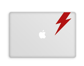 David Bowie Lightning Bolt Decal - Bowie Decal, Ziggy Stardust, Wall Decal, Wall Sticker, Wall Art