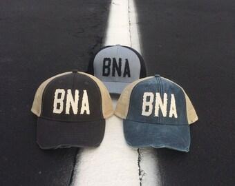 BNA Distressed Trucker Hat