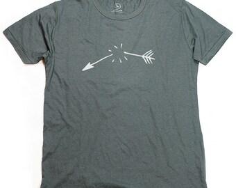 Ninus - Broken Arrow, Hand-printed Bamboo Men's T-Shirt