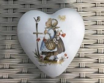 Sister Berta Hummel Originals by Schmid Trinket Box