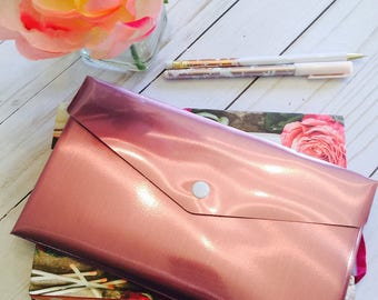 Metallic Snap Envelope ~ Pencil Case ~ Pouch