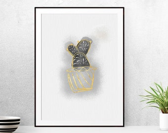 """Shop """"cactus print"""" in Drawing & Illustration"""