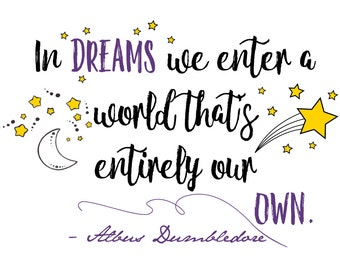 """Shop """"harry potter quotes"""" in Art & Collectibles"""