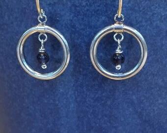 Blue Iolite Earrings