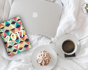 CLEARANCE//EOFY SALE* 2017 Diary, 2017 Planner, Week-to-Week,