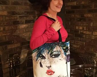 ABOUTFACEJDENARO Trendy Tote Bags