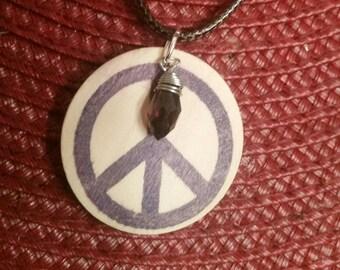 Hippy Peace Necklace