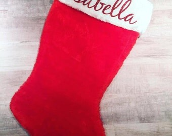 Personalized Christmas Stocking/ Christmas Stocking/ Personalized stocking
