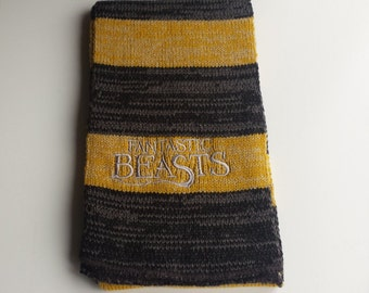 Fantastic Beasts and where to find them scarf