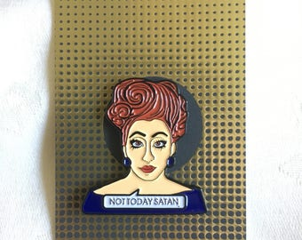 Bianca Del Rio Enamel Pin Badge Ru Paul's Drag Race