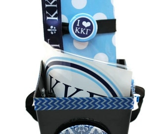 Kappa Kappa Gamma Sorority Gift Basket - Style 2 with Headband