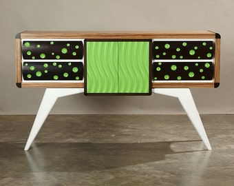 """Modern TV Stand, Media Cabinet, Credenza, Sideboard, Console, Server, Buffet With Drawers """"The Mulholland"""""""