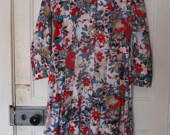Fitted Floral Summer Dress