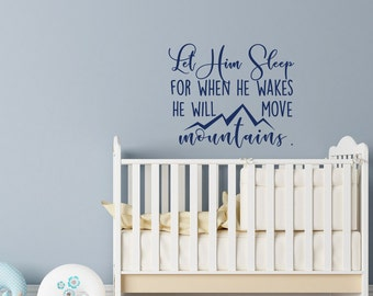 Baby Boy Wall Decal Etsy - Nursery wall decals baby boy