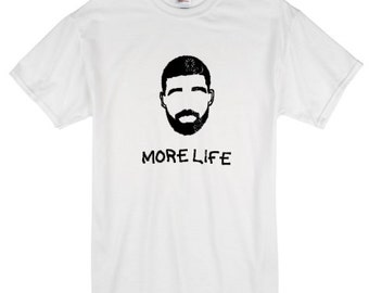 Drake More Life T Shirt, New Drake Album, OVO, Custom Drake Shirts, Concert Tees, New Drake Tees, 2017, 6